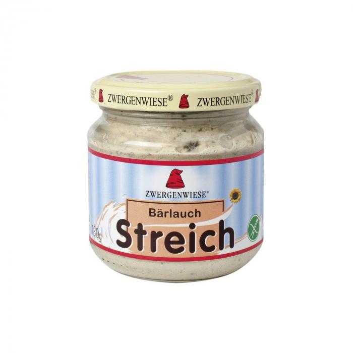 Pate vegetal cu usturoi salbatic FARA GLUTEN Zwergenwiese 180g [0]