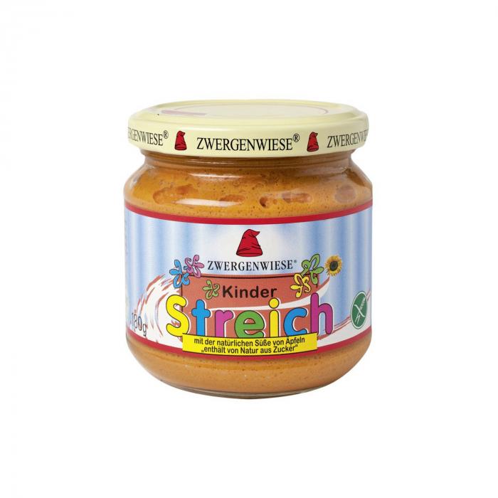 Pateu bio vegetal pentru copii indulcit cu suc de mere FARA GLUTEN Zwergenwiese 180g [0]