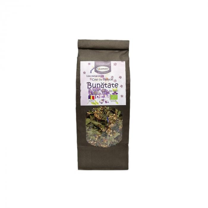 Bunătate - Ceai de paducel si albastrele BIO, 40 g [0]