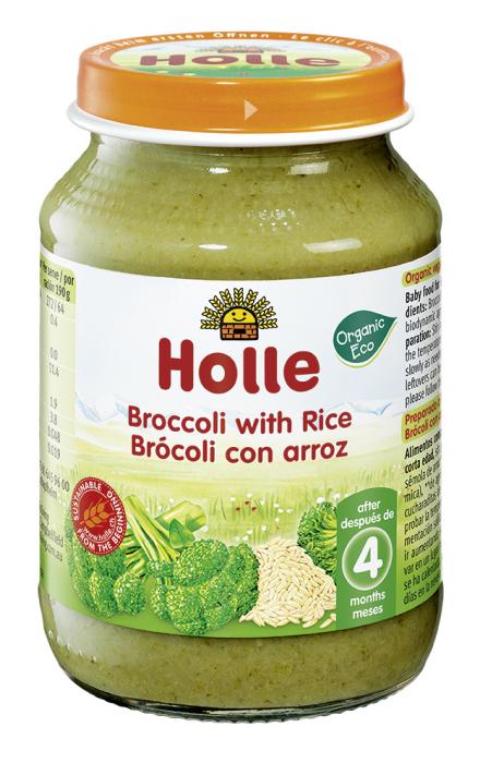 Piure BIO de brocoli si orez 190g [0]