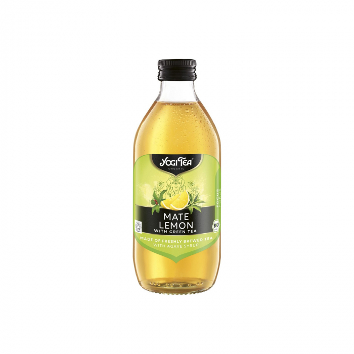 Preparat BIO din ceai mate si lamaie cu ceai verde, 330 ml Yogi Tea [0]