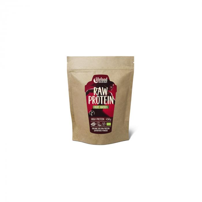 Pudra Proteica Fruit Antiox Superfood Raw Bio Fara Gluten 450G [0]