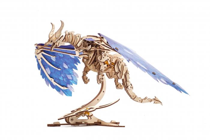 Puzzle 3D din lemn - Dragonul Furtunii [0]