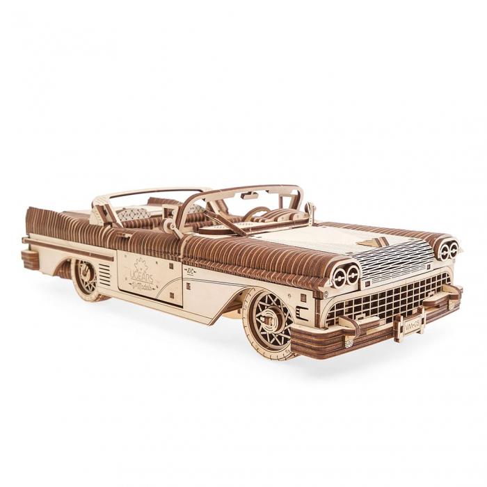Puzzle 3D din lemn - Dream Cabriolet [0]