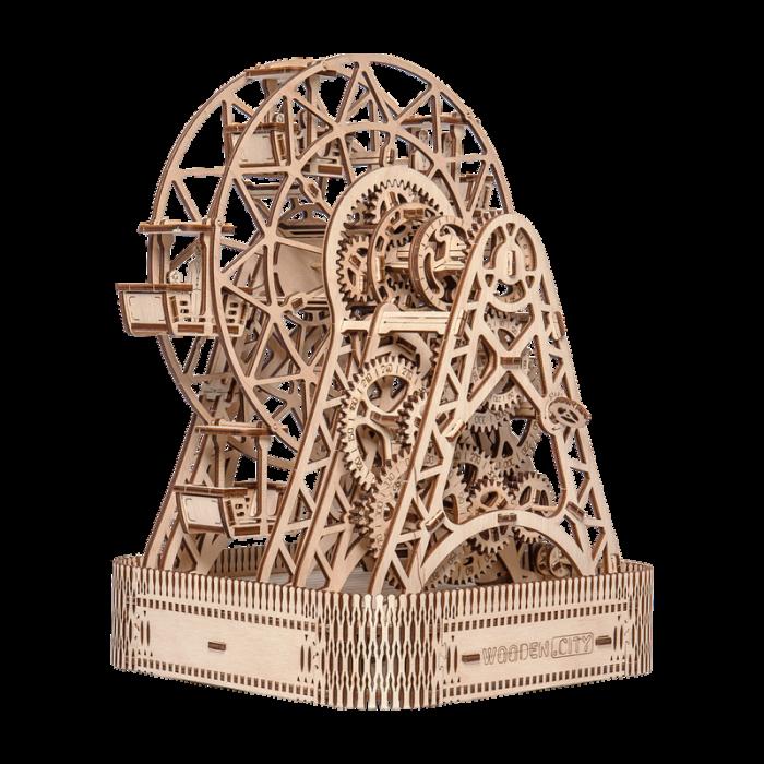 Puzzle 3D din lemn - Ferris Wheel [0]
