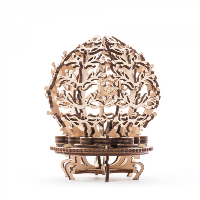 Puzzle 3D din lemn - Floare mecanica [0]