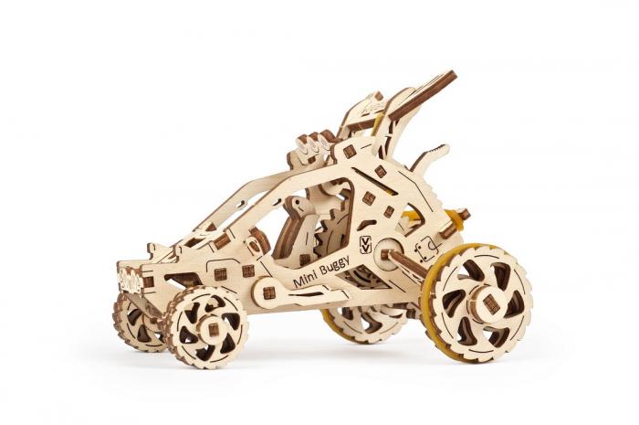 Puzzle 3D din lemn - Mini Buggy [0]