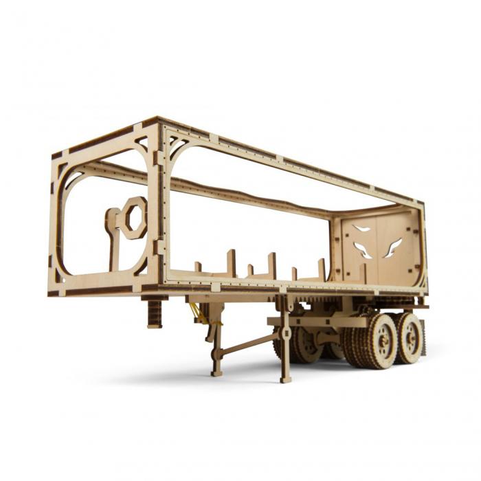 Puzzle 3D din lemn - Remorca pentru camion VM-03 [0]