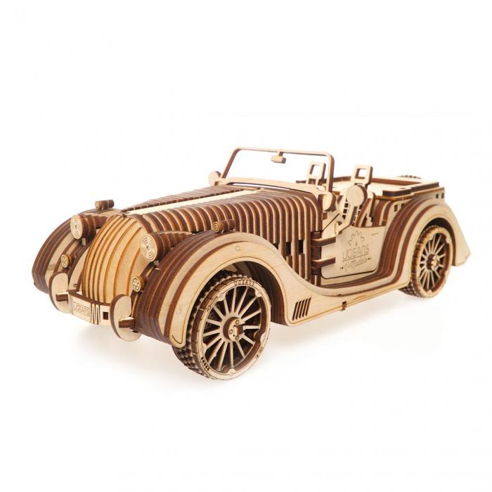 Puzzle 3D din lemn - Roadster [0]