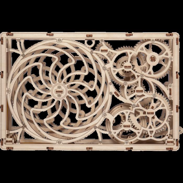 Puzzle 3D din lemn - Tablou iluzie optica (Kinetic Picture) [3]