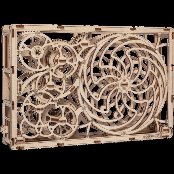 Puzzle 3D din lemn - Tablou iluzie optica (Kinetic Picture) [2]