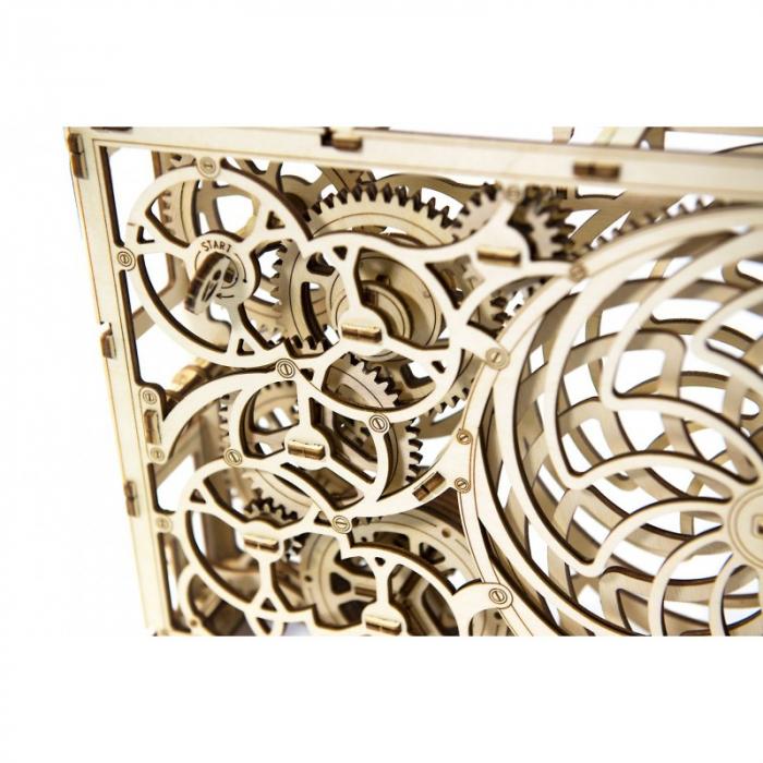 Puzzle 3D din lemn - Tablou iluzie optica (Kinetic Picture) [5]
