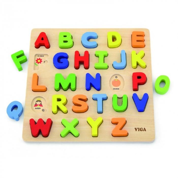 Puzzle 3D Litere mari [0]