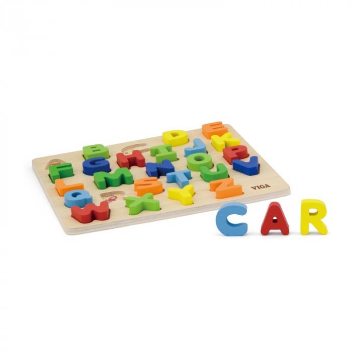 Puzzle 3D Litere mari [3]