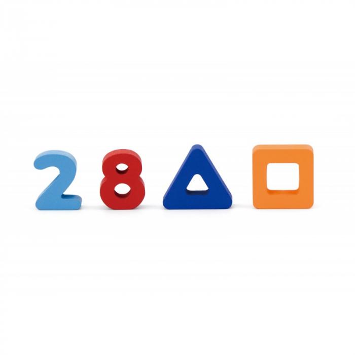 Puzzle 3D Numere si forme [2]