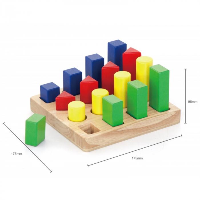 Puzzle sortator 4 forme geometrice [3]