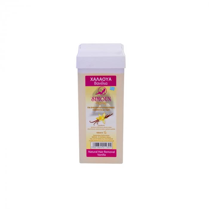 Roll-on ceara naturala de zahar pentru epilat - aroma vanilie [0]