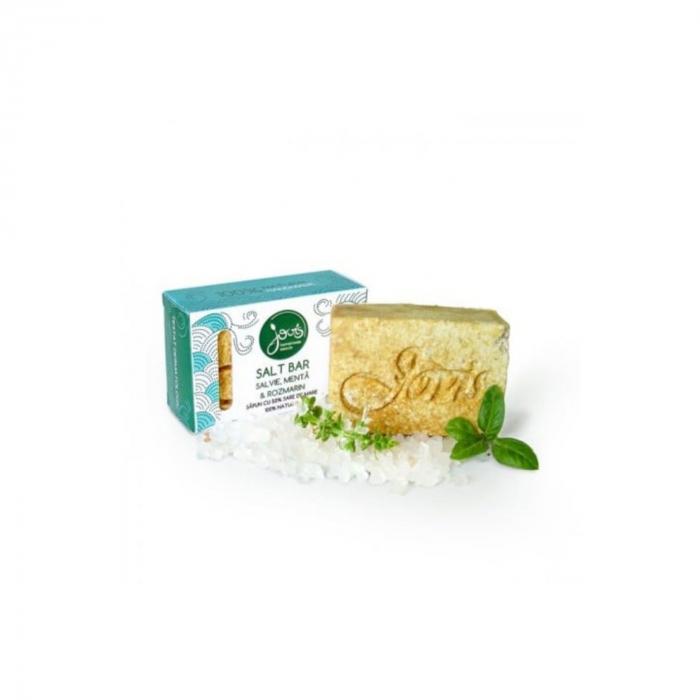 Salt bar- sapun cu 50% sare de mare, salvie, menta,rozmarin [0]