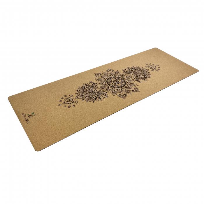 Saltea Yoga din pluta naturala Bloom 1830 x 610 x 4mm [1]