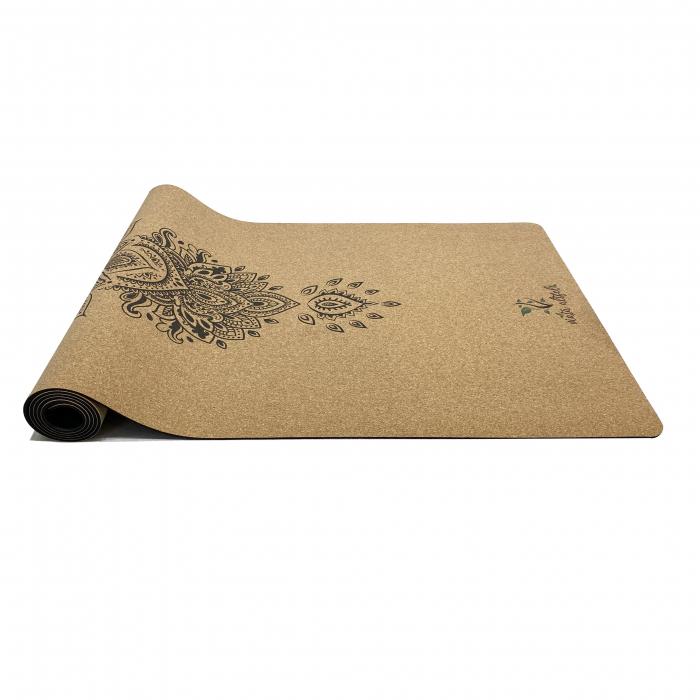 Saltea Yoga din pluta naturala Bloom 1830 x 610 x 4mm [3]