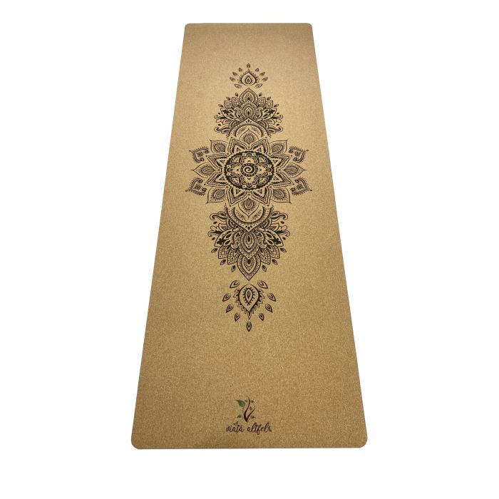 Saltea Yoga din pluta naturala Bloom 1830 x 610 x 4mm [0]