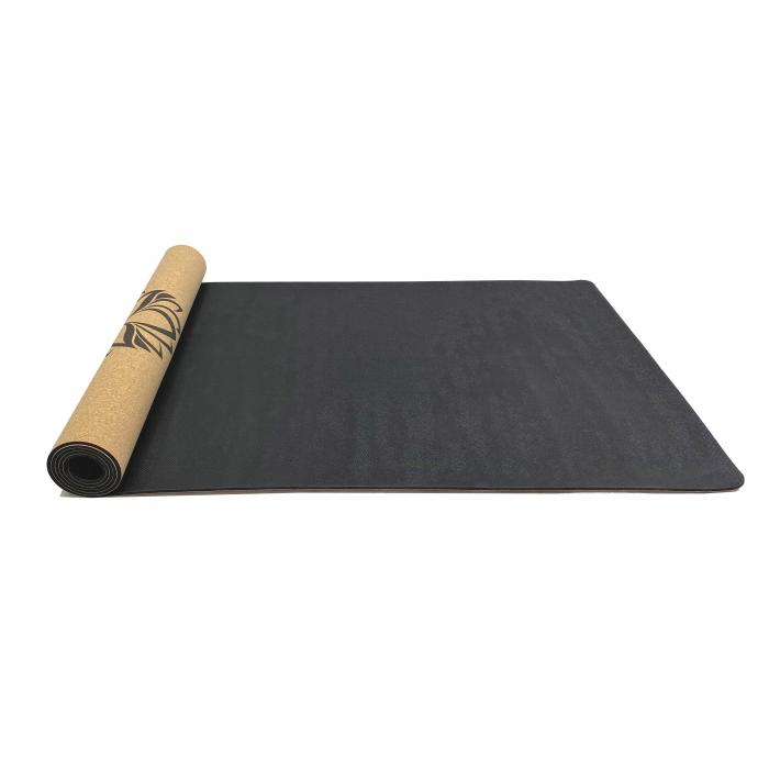 Saltea Yoga din pluta naturala Lotus 1830 x 610 x 4mm [4]