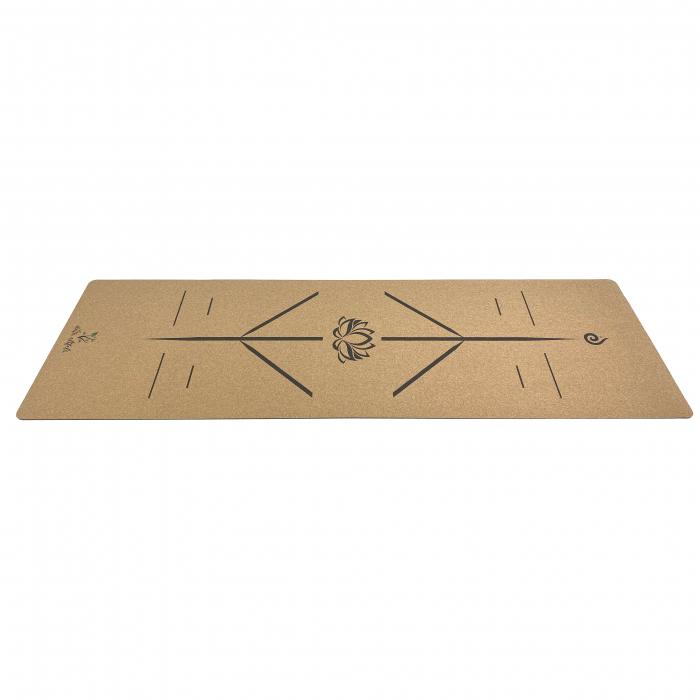 Saltea Yoga din pluta naturala Lotus 1830 x 610 x 4mm [2]