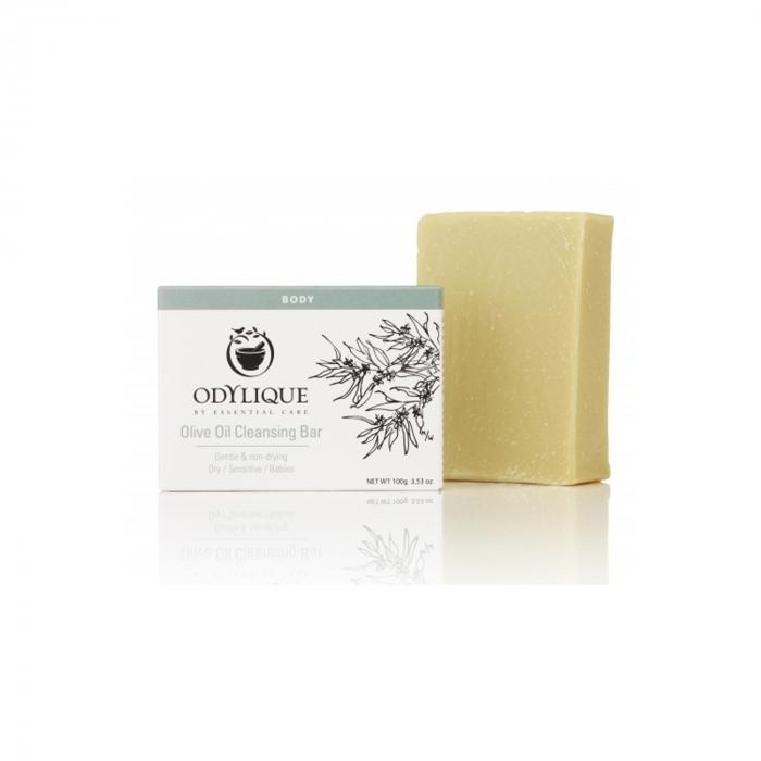 Sapun hidratant, cu ulei de masline pur, pt. piele sensibila, Odylique 100g [0]