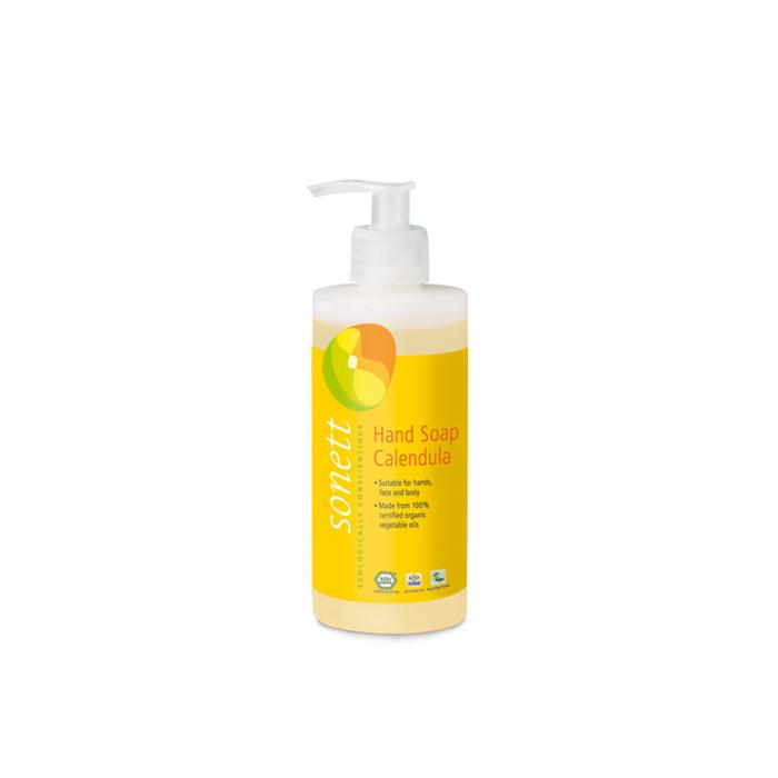 Sapun lichid/gel de dus ecologic - galbenele 300ml [0]