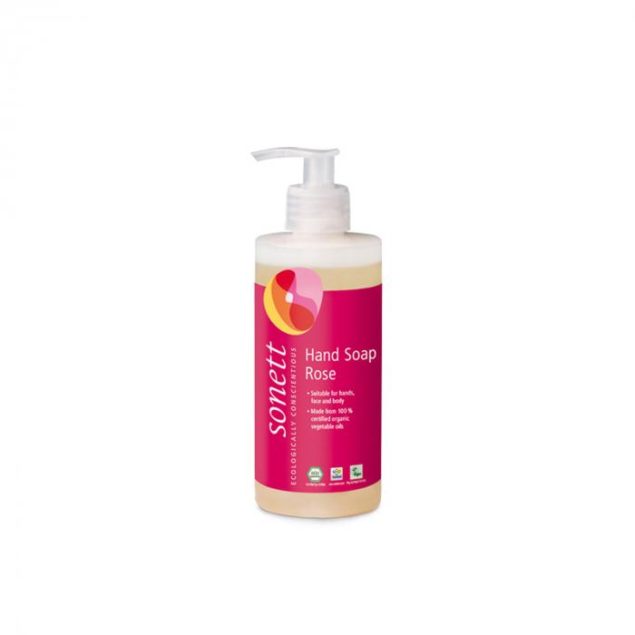 Sapun lichid/gel de dus ecologic - trandafiri 300ml [0]