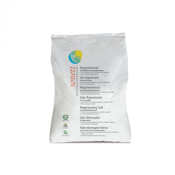 Sare regeneranta ecologica pt. masina de spalat vase 2kg Sonett [0]