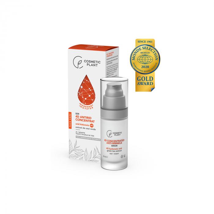 Ser Antirid Concentrat cu Acid Hialuronic 4D 30Ml Face Care [0]
