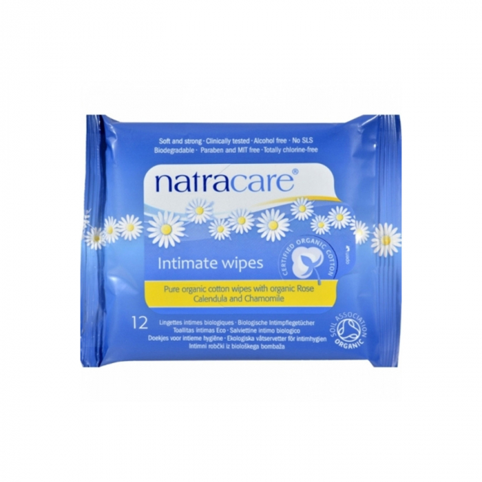 Servetele BIO Natracare pentru igiena intima, 12 buc [0]