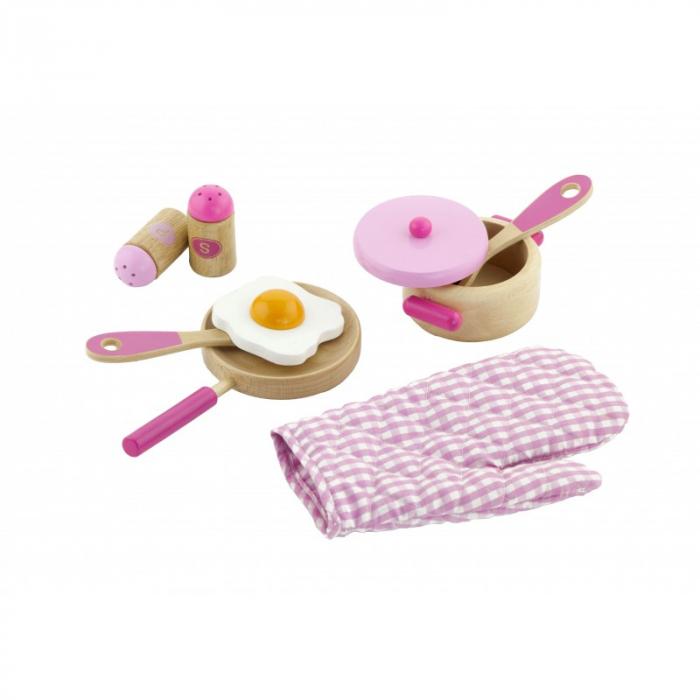 Set accesorii pentru gatit - roz [0]