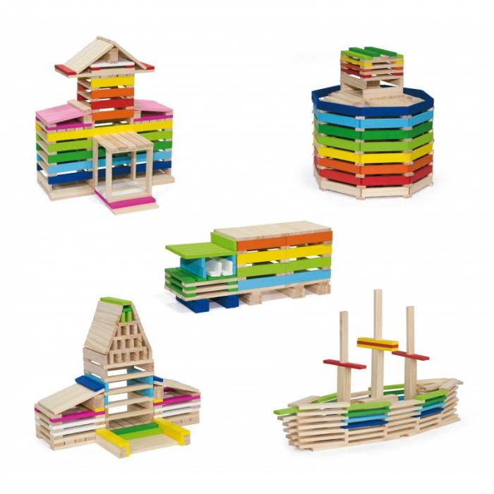 Set de blocuri pentru constructie Architecture (250 piese) [0]