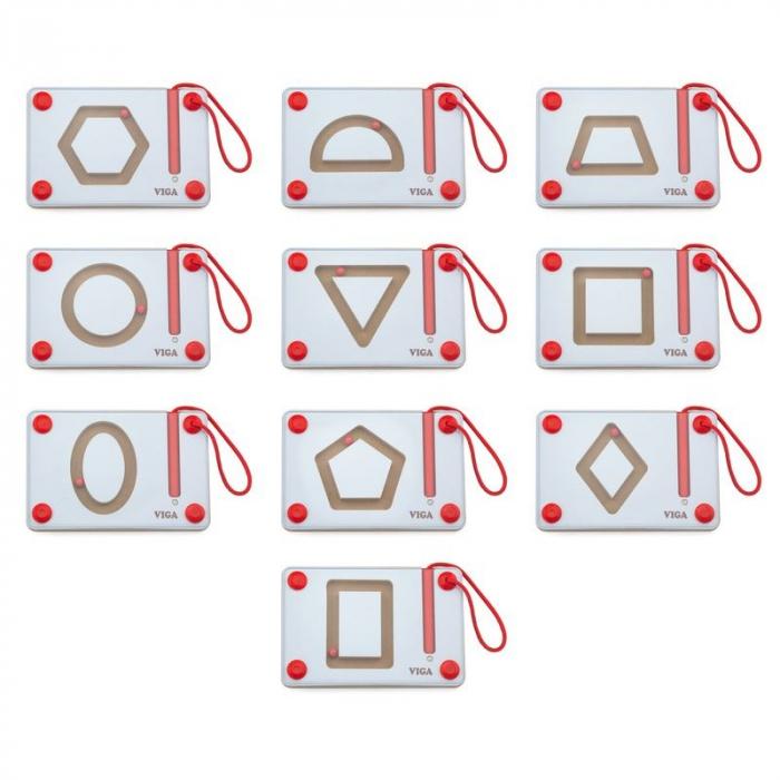 Set magnetic de scriere - Forme geometrice [0]
