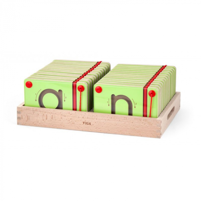 Set magnetic de scriere - Litere mici [1]