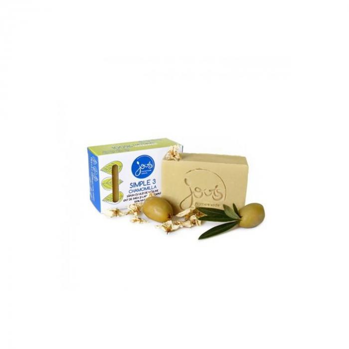 Simple 3- sapun cu masline, unt de shea si lapte de capra - Chamomilla [0]