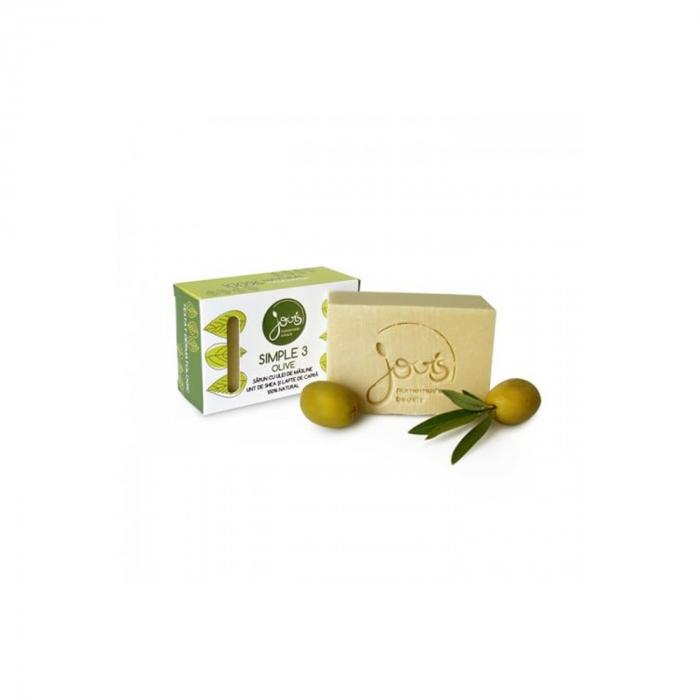 Simple 3- sapun cu masline, unt de shea si lapte de capra - Olive [0]