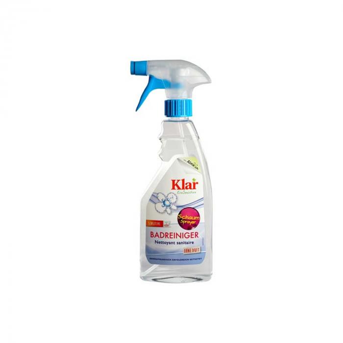 Solutie hipoalergenica pentru curatat baia BIO cu pulverizator  Klar 500ml [0]