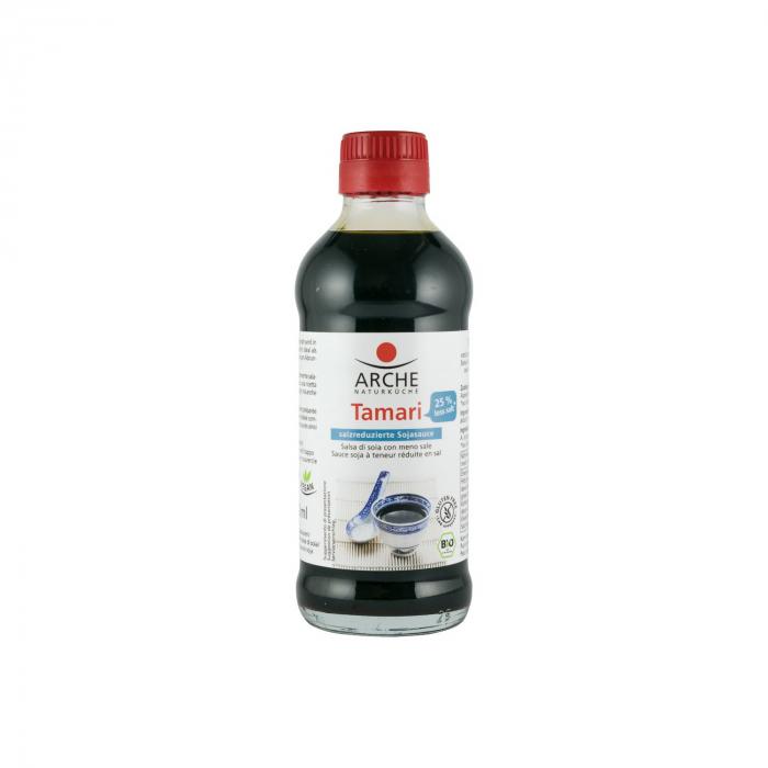 Sos BIO de Soia Tamari cu 25% mai putina sare, 250 ml  [0]