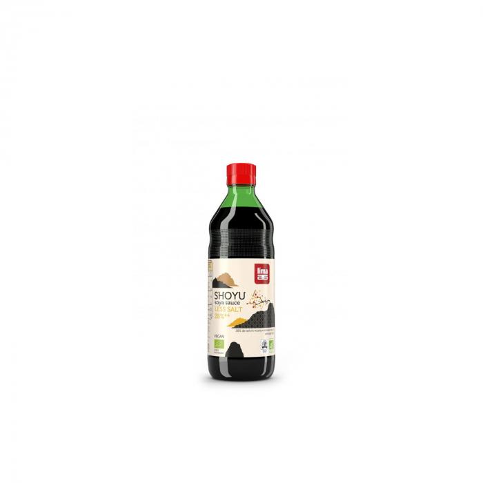 Sos de soia shoyu BIO cu continut redus de sare 250ml [0]