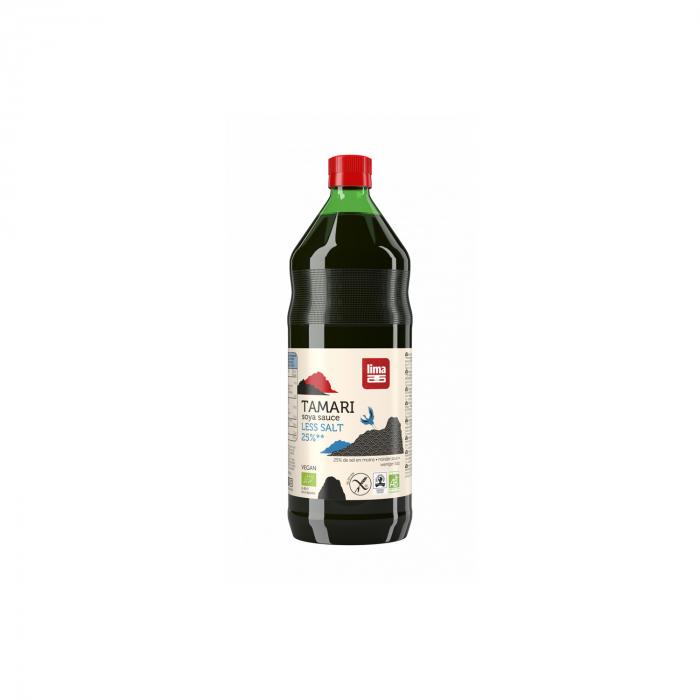 Sos de soia tamari cu continut redus de sare BIO 250ml [0]