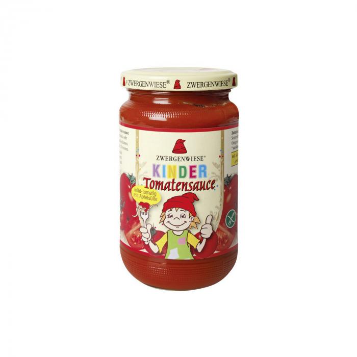Sos de tomate pentru copii cu indulcitor din mar Zwergenwiese 340ml [0]