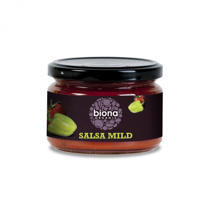 Sos Salsa Dip Mediu Picant Bio 220G Biona [0]