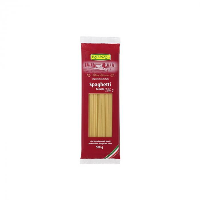 Spaghetti BIO semola Rapunzel 500g [0]
