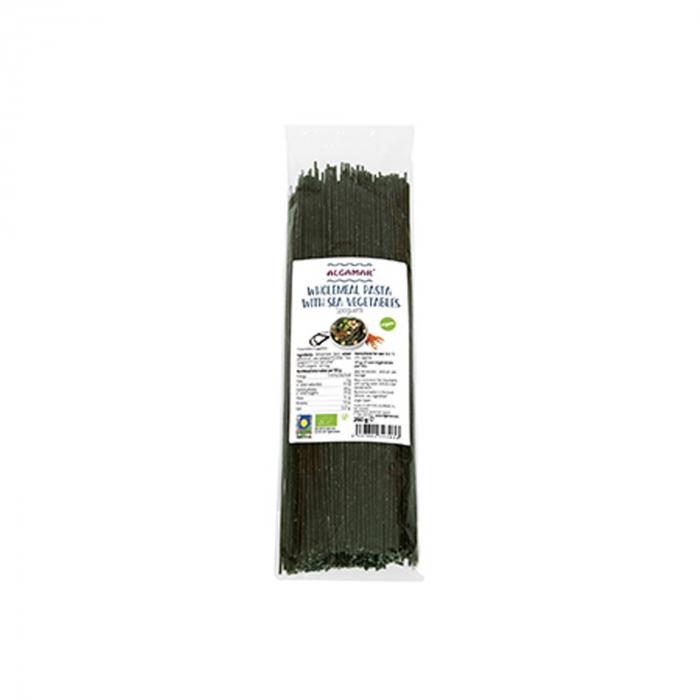 Spaghetti Integrale Grau Dur Cu Alge Marine Bio 250G [0]
