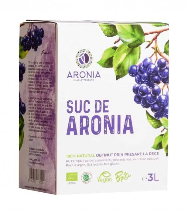 Suc de aronia ecologic 3 litri [0]