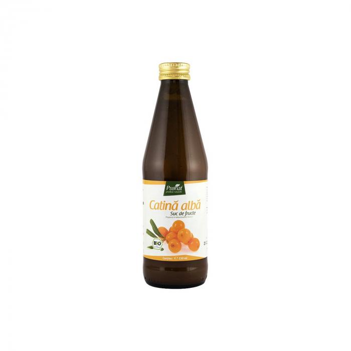 Suc de catina alba 100%, BIO, 330 ml Medicura [0]