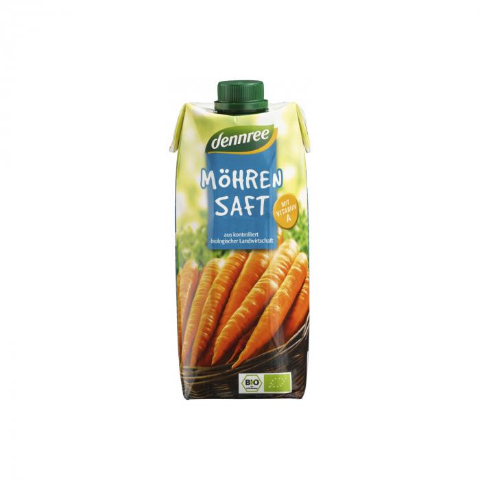 Suc de morcovi BIO VEGAN Dennree 500ml [0]